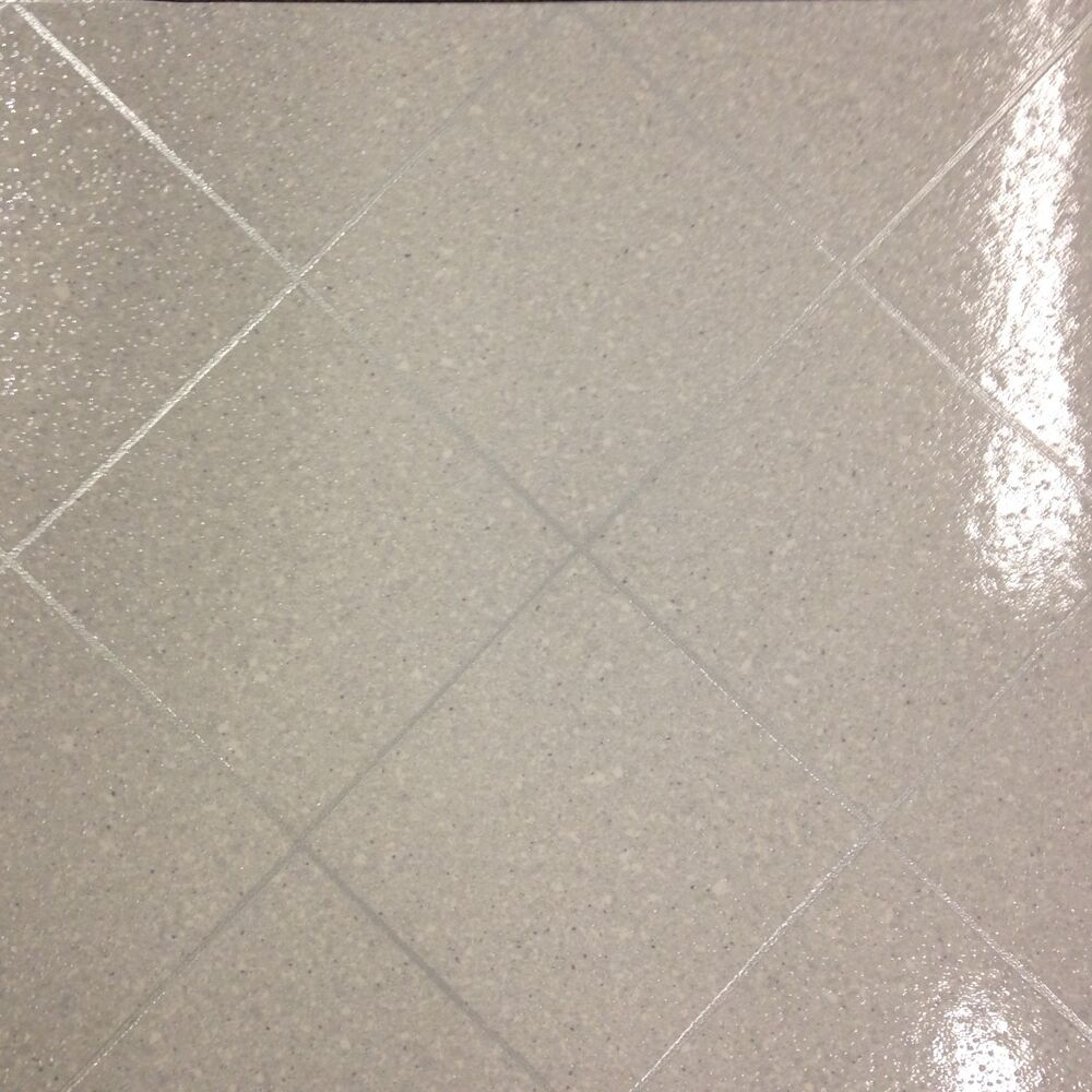 Exclusive gloss 0559 vinyl flooring kitchen bathroom white for Cheap vinyl floor tiles