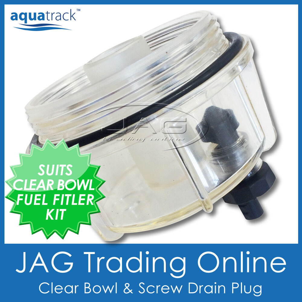 clear bowl amp drain only suits fuel filter water mercury outboard fuel filter replacement