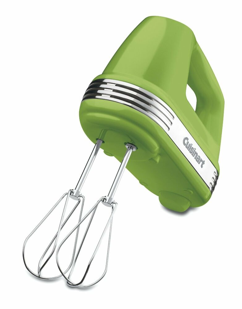 Single Hand Mixer ~ Cuisinart hm grslt power advantage speed hand mixer