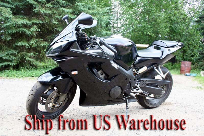 gloss black complete injection fairing kit for 2001 2002. Black Bedroom Furniture Sets. Home Design Ideas
