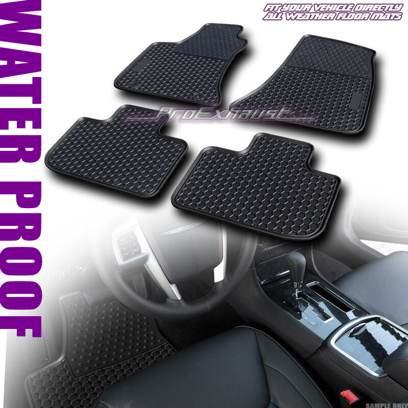 SALE ALL WEATHER FRONT+REAR FLOOR MATS CARPET 4P FOR 2011