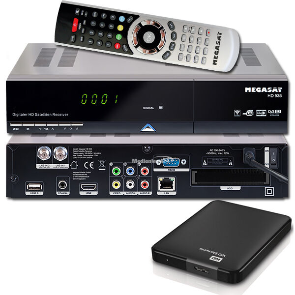 megasat hd 935 twin 1tb externe festplatte hdtv sat receiver pvr ready ebay. Black Bedroom Furniture Sets. Home Design Ideas