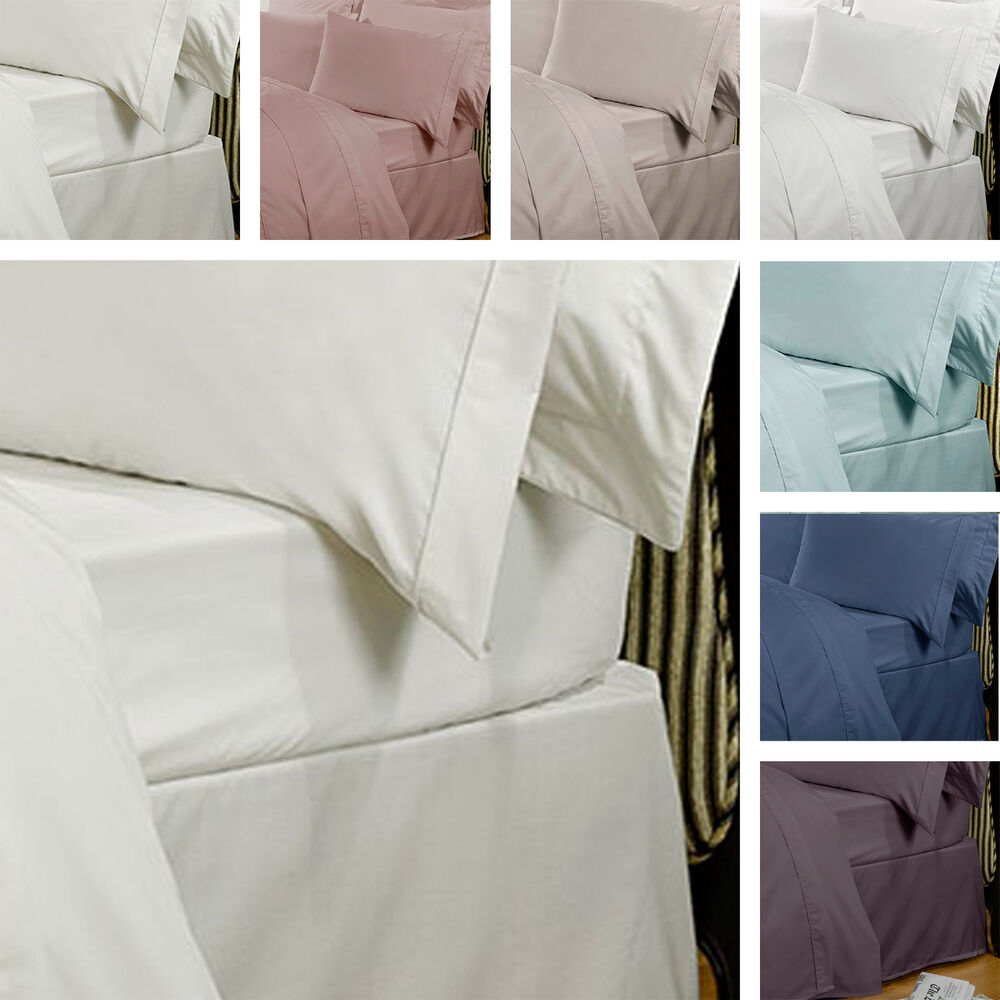 highams luxury 100 egyptian cotton 230 thread count bedding fitted bed sheet ebay. Black Bedroom Furniture Sets. Home Design Ideas