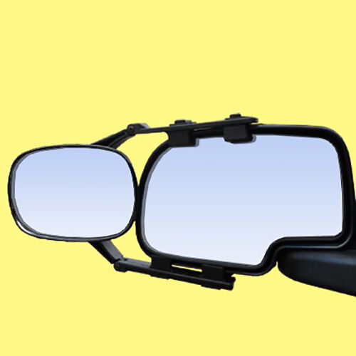Clip On Towing Mirror Tow Extension Side Rear View Hauling