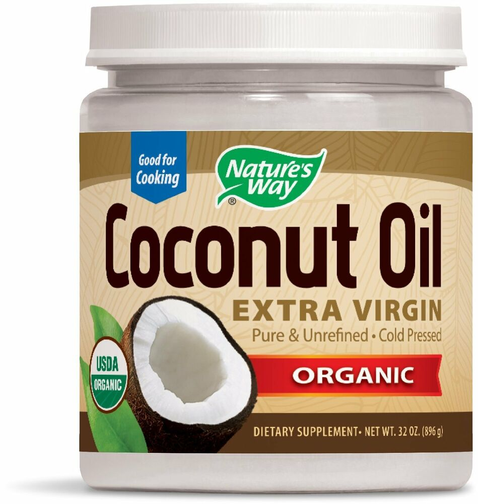Nature S Way Extra Virgin Organic Coconut Oil