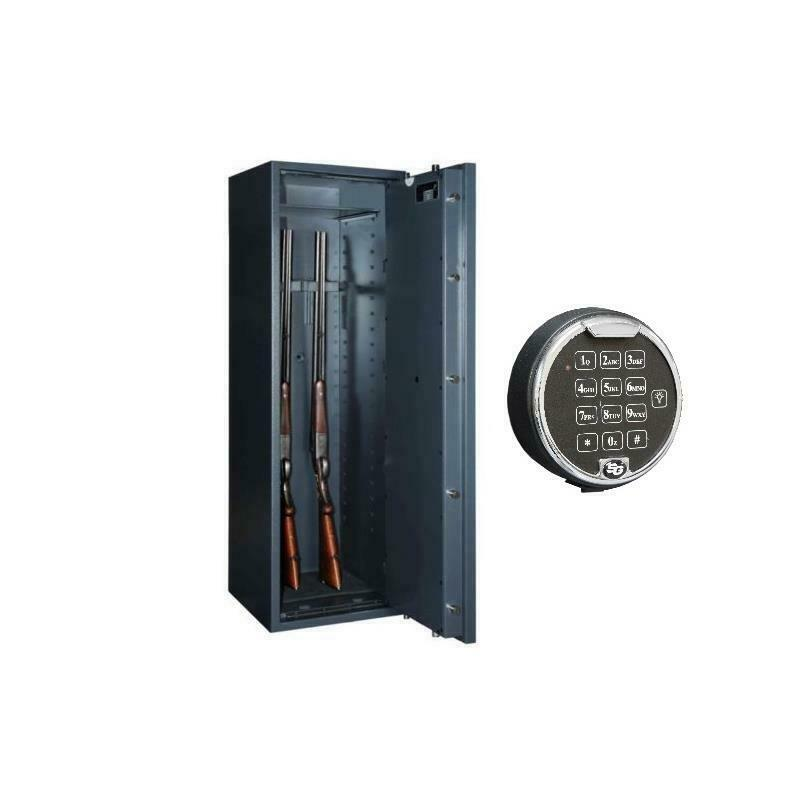 waffenschrank gun safe 1 5 stufe widerstandsgrad i mit el zahlenschlo ebay. Black Bedroom Furniture Sets. Home Design Ideas