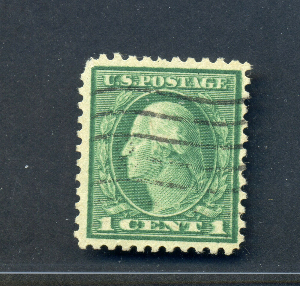 Scott 498d Washington Double Impression Rare Used Stamp With Pf Cert 498 1 Ebay
