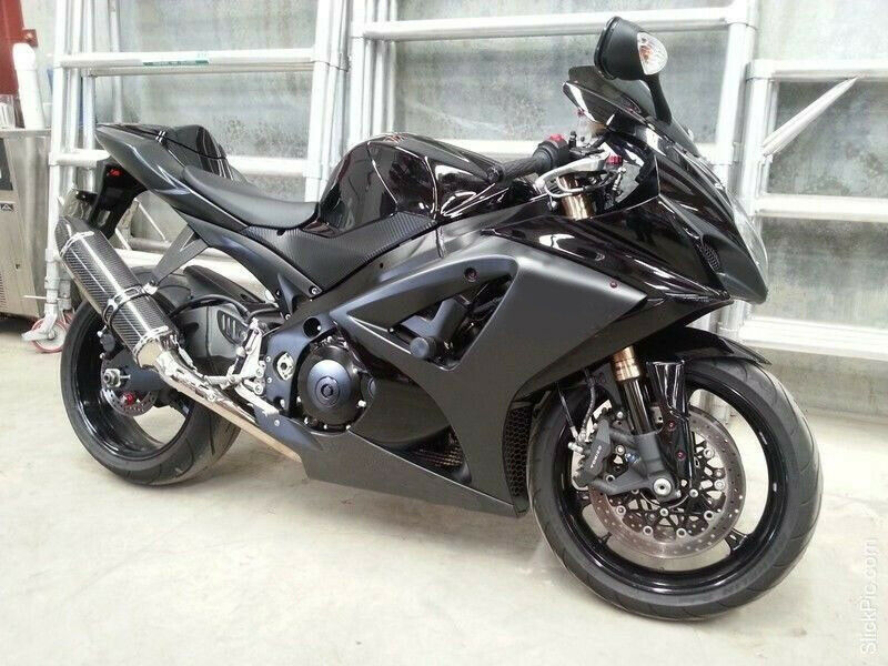 matte gloss black injection fairing kit for 2007 2008 suzuki gsxr gsx r 1000 ebay. Black Bedroom Furniture Sets. Home Design Ideas