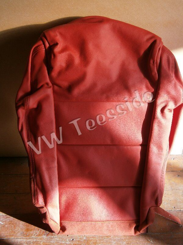 Genuine Audi Tt Coupe Front Right Red Nappa Leather Base