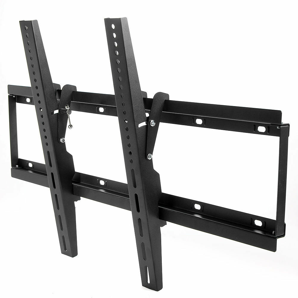 flat screen tv wall mount bracket led lcd tilt 22 32 37 39 42 46 50 52 55 60 65 ebay. Black Bedroom Furniture Sets. Home Design Ideas