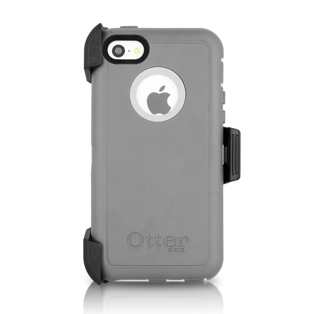 otterbox iphone 5c defender otterbox defender iphone 5c amp holster glacier gray 15817