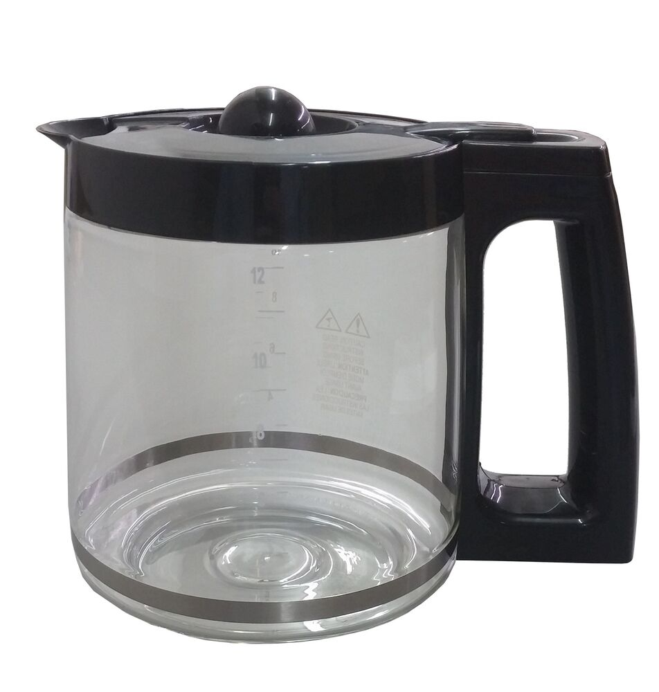 Coffee Maker Pot Replacement : Hamilton Beach 12 Cup Coffeemaker Replacement Glass Carafe for Model 43254 eBay