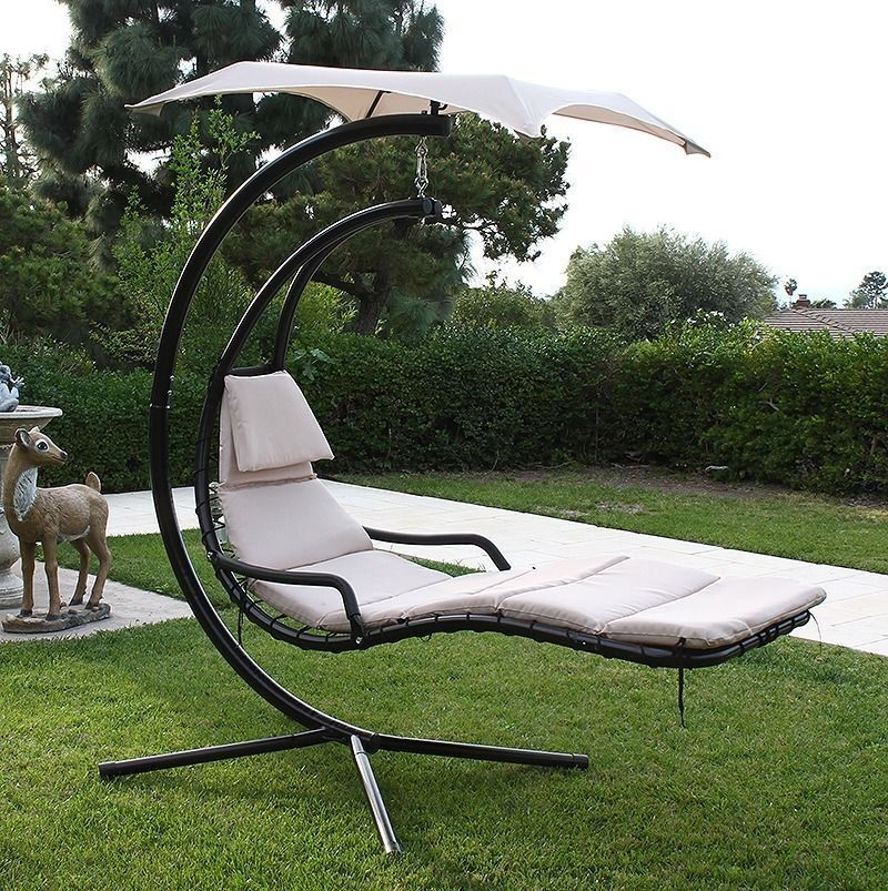 Hanging Helicopter Dream Lounger Chair Arc Stand Swing