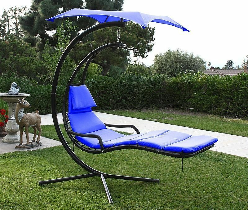 Hanging Helicopter Dream Lounger Chair Stand Swing Hammock