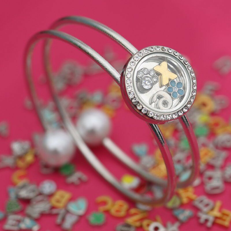Fashion Snap It Floating Locket Chunk Charm Button For
