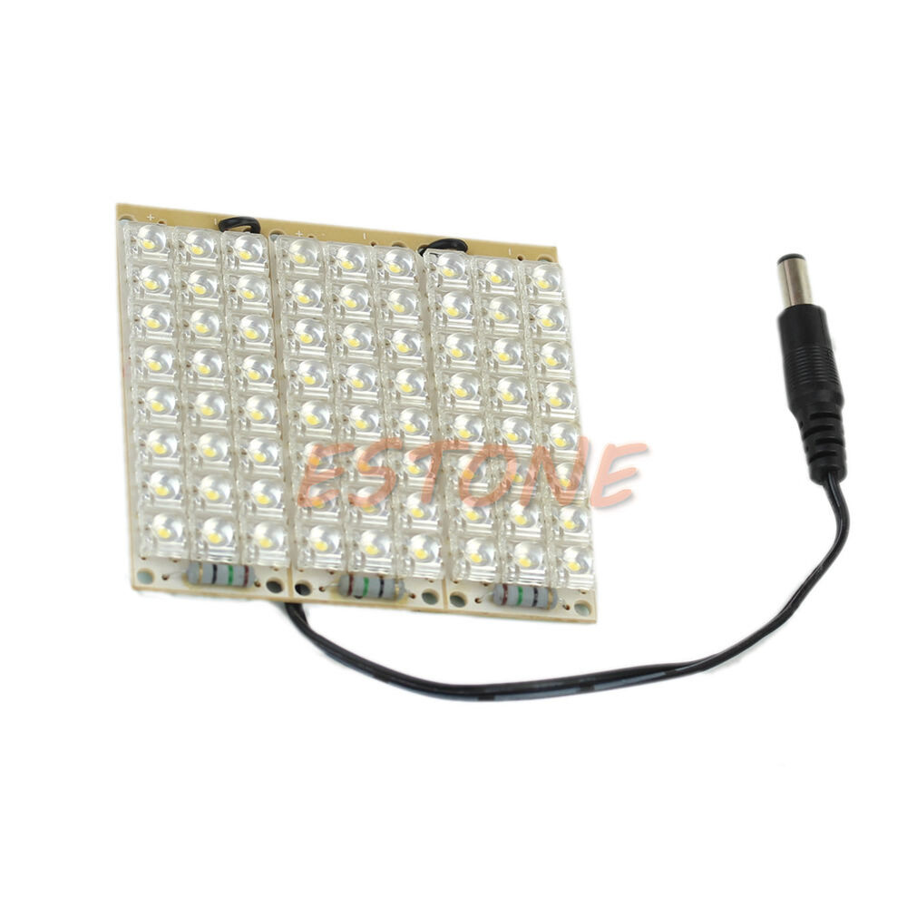 new super bright dc 12v light 72 led piranha led panel. Black Bedroom Furniture Sets. Home Design Ideas