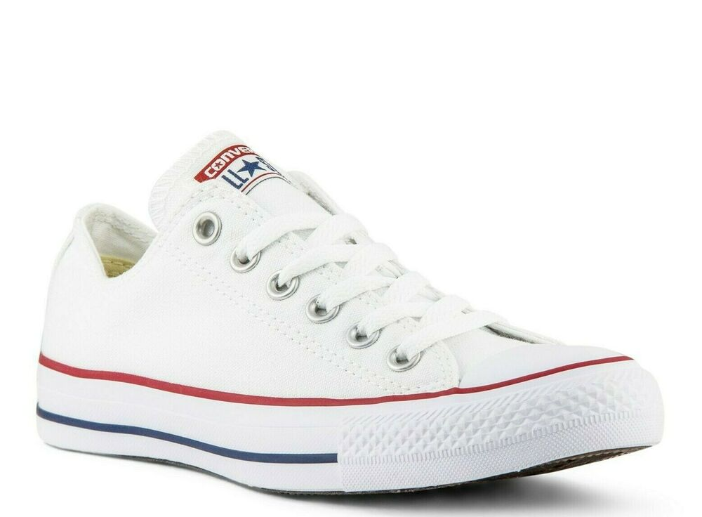 Men's/Women's CONVERSE M7652 White ALL STAR Chuck Taylor ...