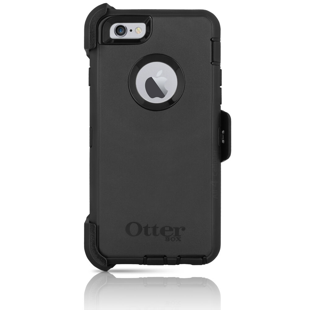 otterbox iphone 6 defender otterbox defender iphone 6 6s 4 7 quot amp holster black 15820