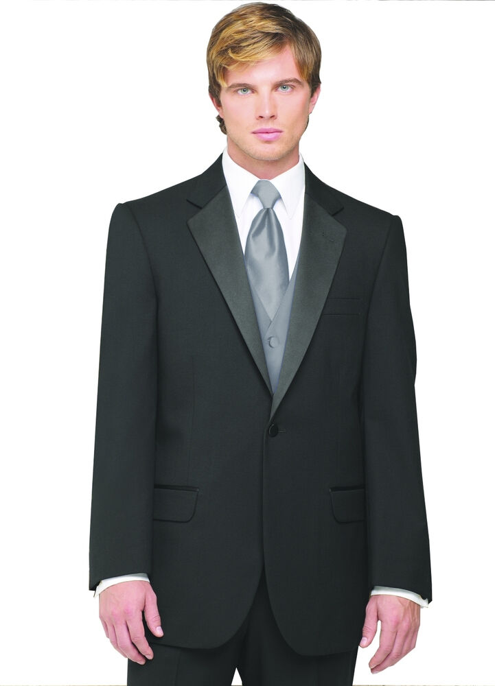 Sizes 34 64 Regular 6 Piece Complete Tuxedo Package With