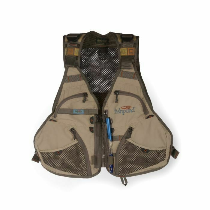Fishpond flint hills vest with free nippers zinger for Fly fishing nippers