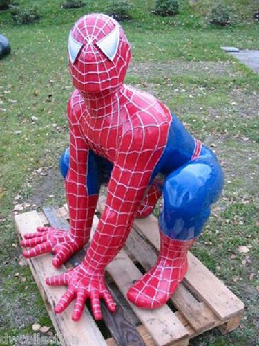 spiderman lebensgro figur werbung kino film werbefigur filmfigur skulptur ebay. Black Bedroom Furniture Sets. Home Design Ideas