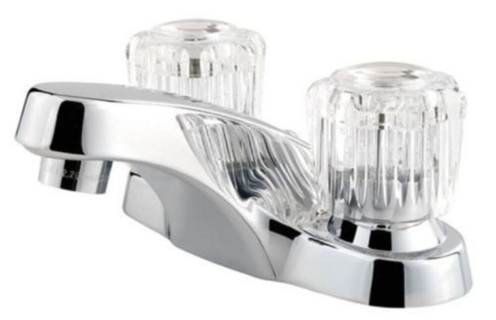 """Delta Faucet B3596lf Windemere Polished Chrome Two Handle: Price Pfister (F-WL2-20NC) 4"""" Polished Chrome Finish"""