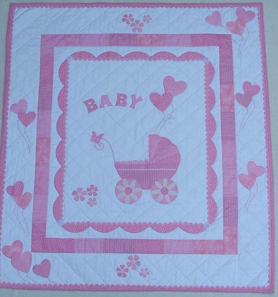 PATCHWORK / QUILTING APPLIQUE BOY OR GIRL BABY QUILT SEWING PATTERN eBay
