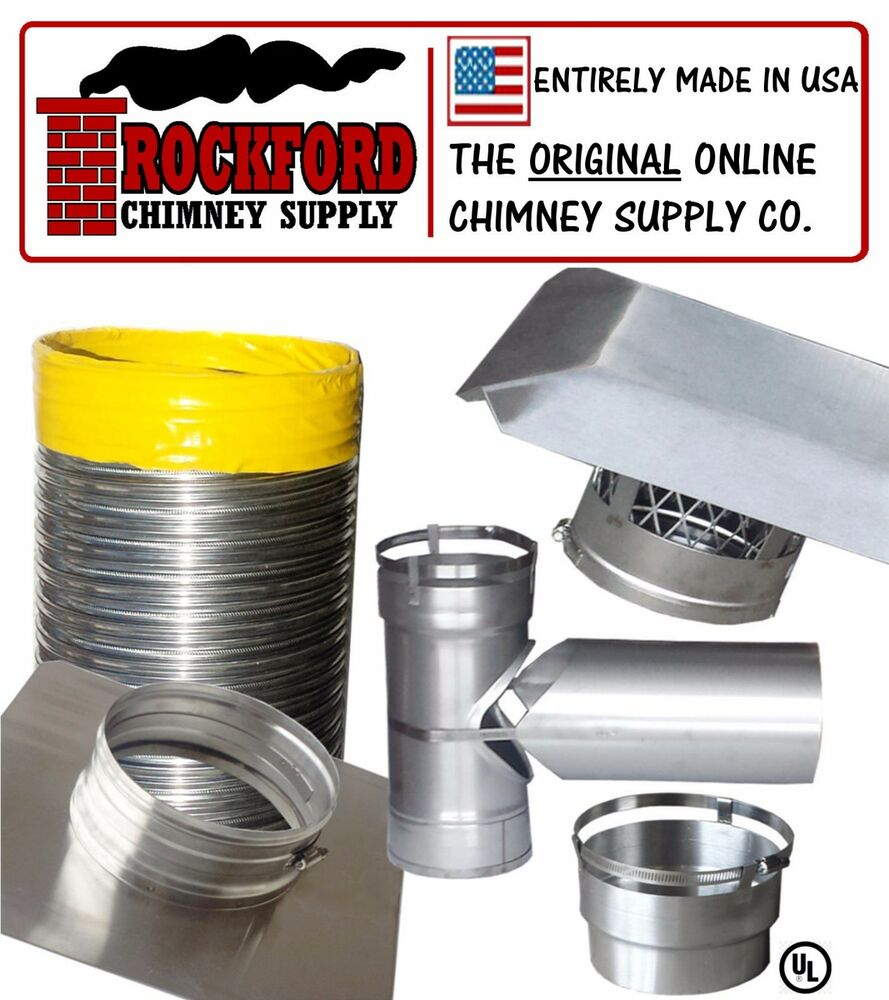 Smooth Wall Chimney Liner Kit 2 Ply 013 316 Liner