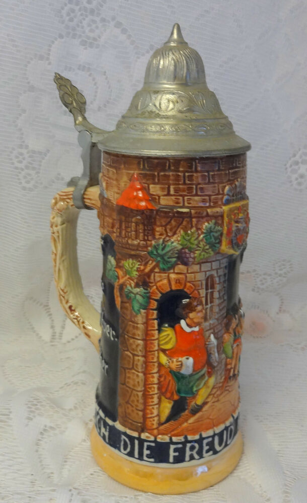 Vintage Gerz West Germany Beer Stein Mug | eBay |Vintage West Germany Beer Steins