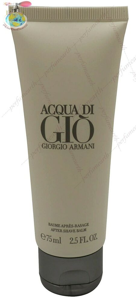 6e060727fdbe Acqua Di Gio By Giorgio Armani 2.5. 75ml After Shave Balm For Men New And  Unbox