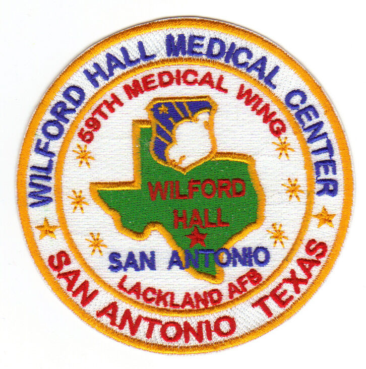 San Antonio Coroplast Signs Camp Bullis Floresville: USAF BASE PATCH, WILFORD MEDICAL CENTER, LACKLAND AFB, SAN