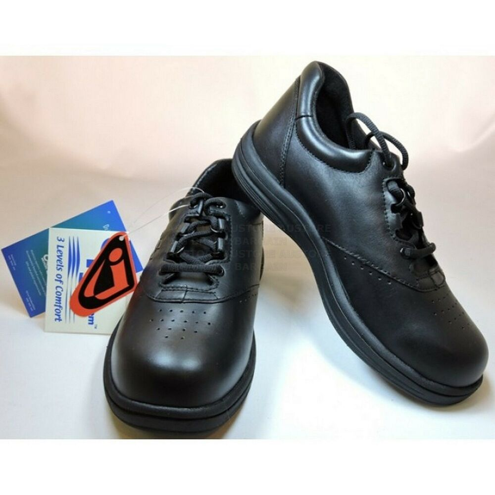 Womens Leather Orthotic Shoes