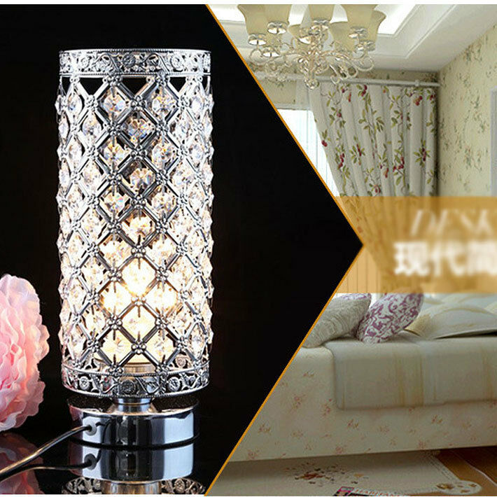 crystal table lamp bedroom lights bedside lamp creative table lamp