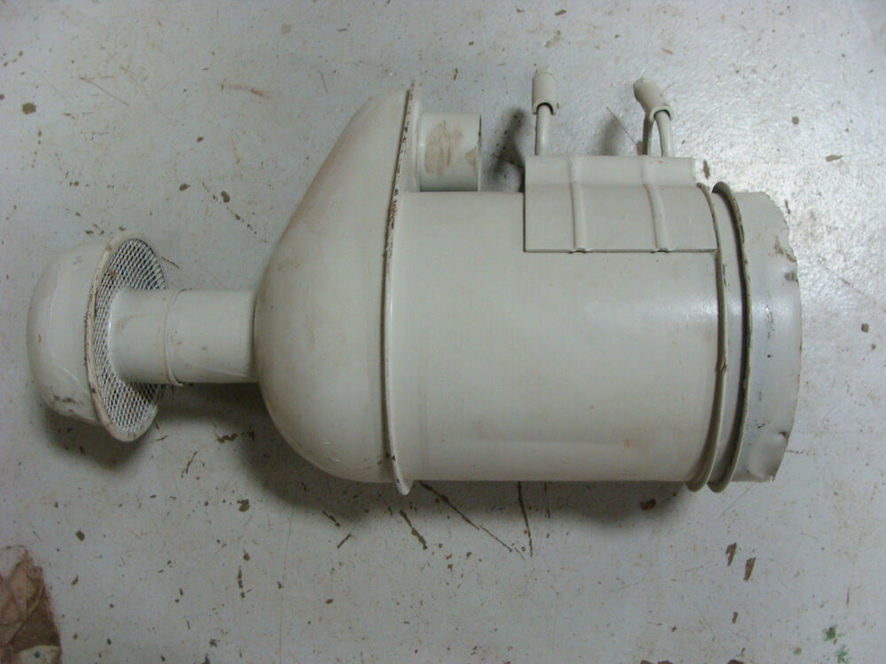 Ford 555 Backhoe Air Cleaners : Ford tractor original used oem diesel air cleaner assembly