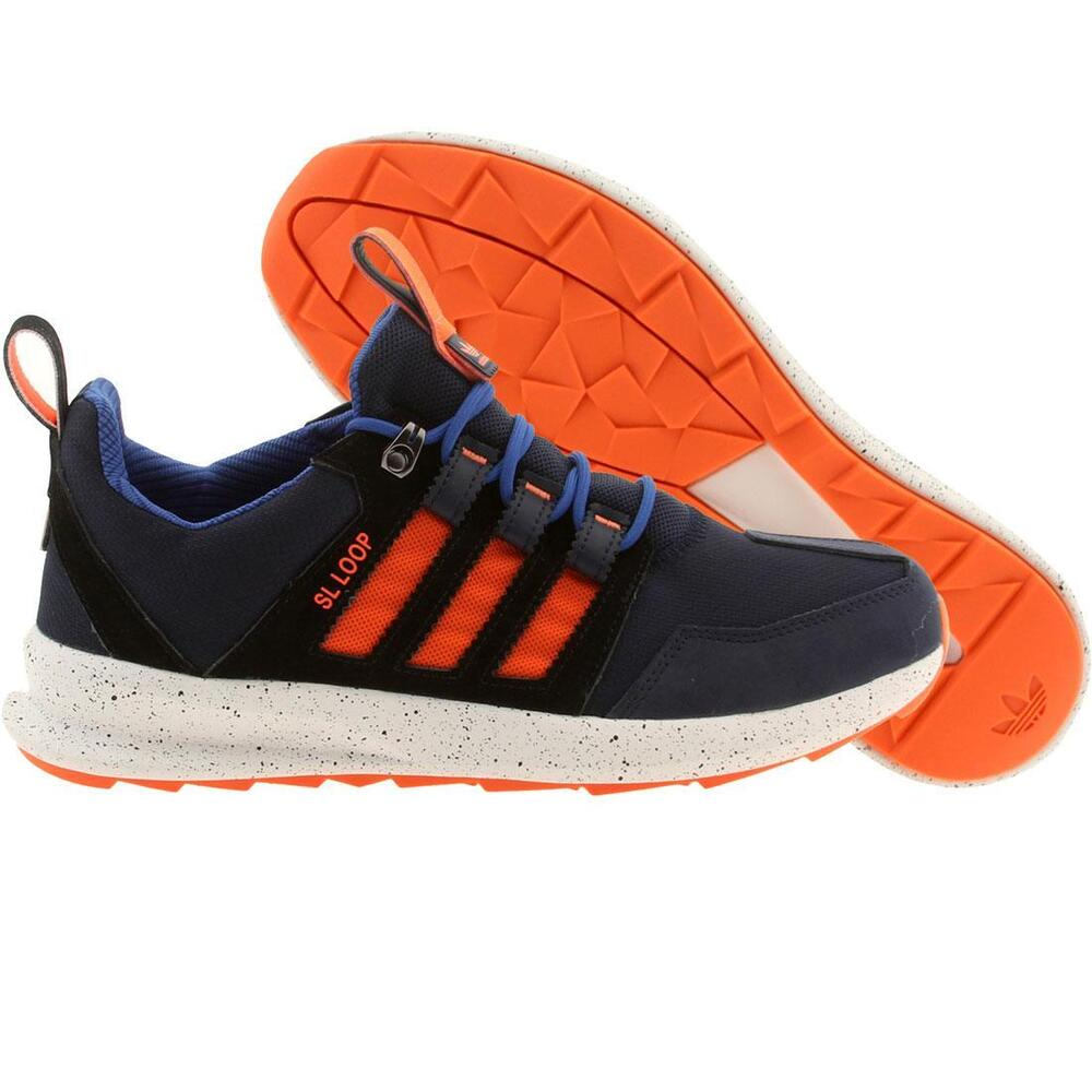 Adidas Climacool Shoes Orange And Blue