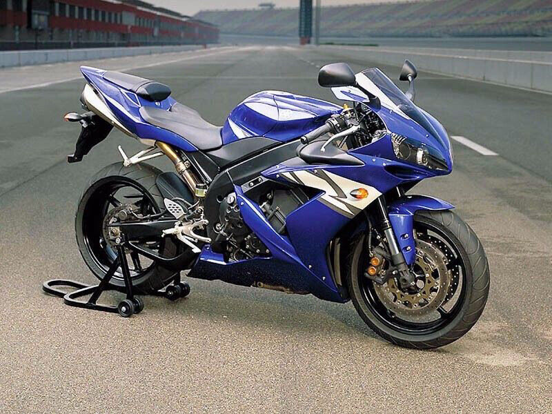 Blue with white complete fairing bodywork injection for for Yamaha r1 deals