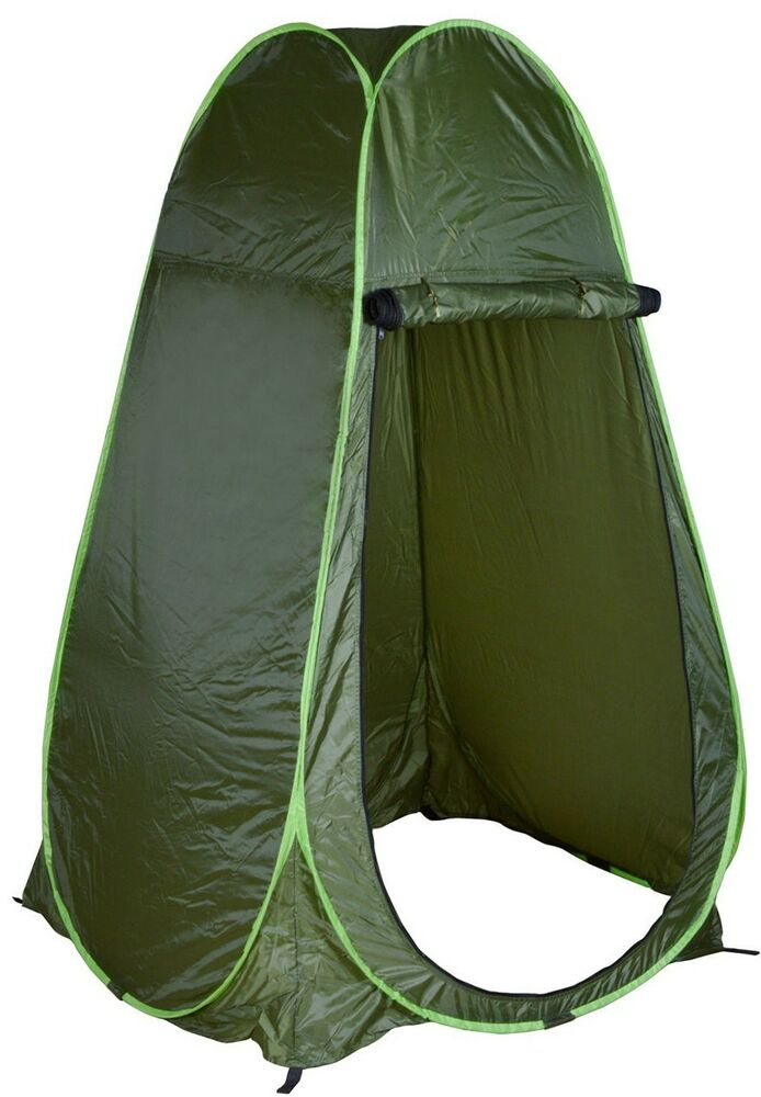 Pop Up Privacy Shelter : Portable green outdoor pop up tent camping shower privacy