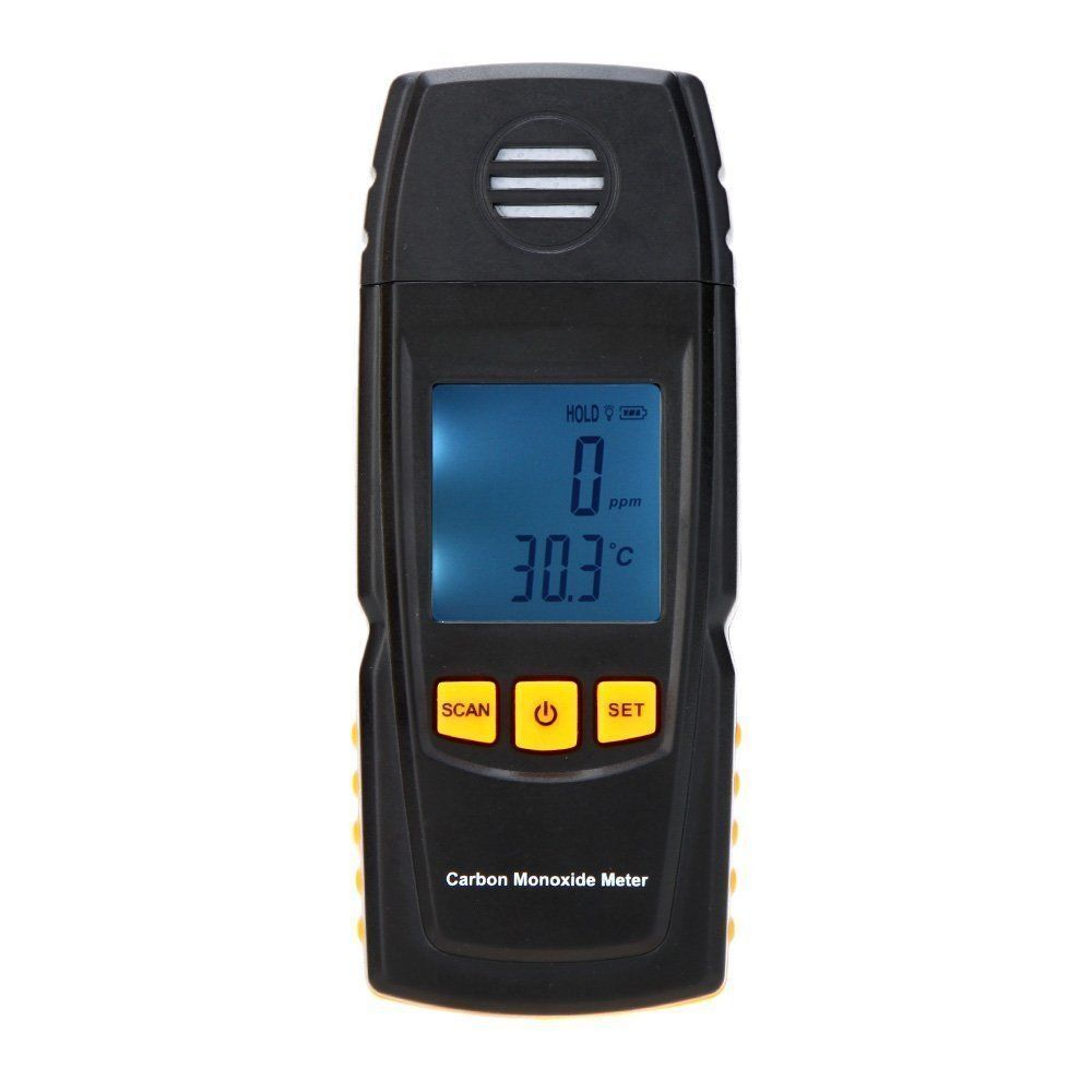 Handheld Carbon Monoxide Meter W   High Precision Co Gas Tester Monitor Detector