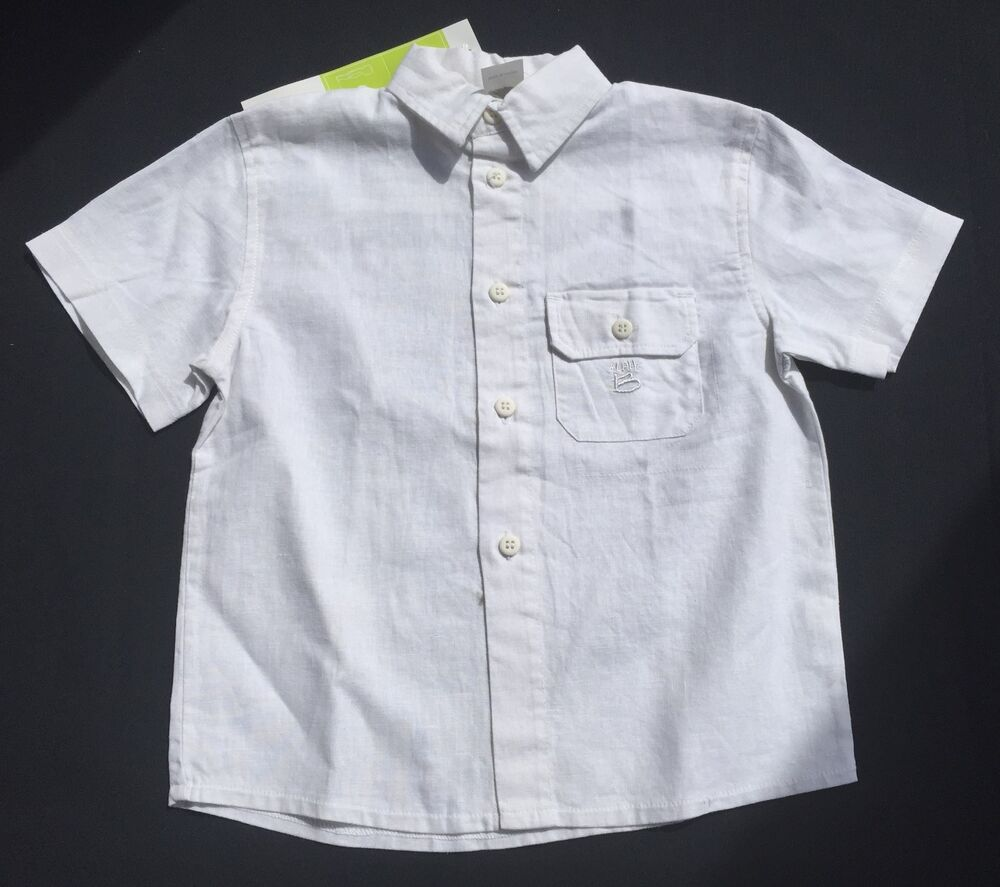 Find great deals on eBay for Boys White Linen Shirt in Boy's Tops, Shirts, and T-Shirts Sizes 4 and Up. Shop with confidence.