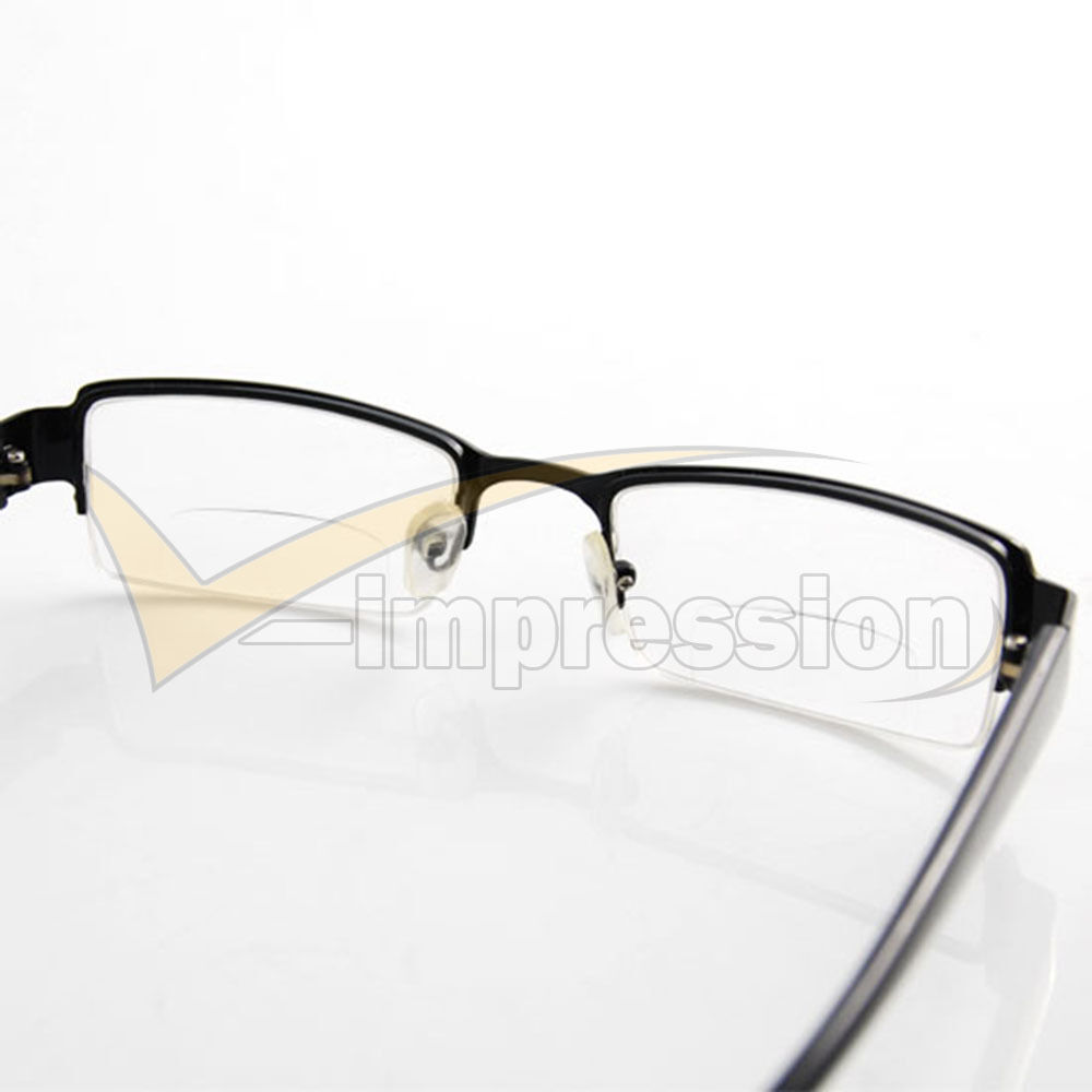 Unisex Half Black Frame Bifocal Presbyopic Reading Glasses ...