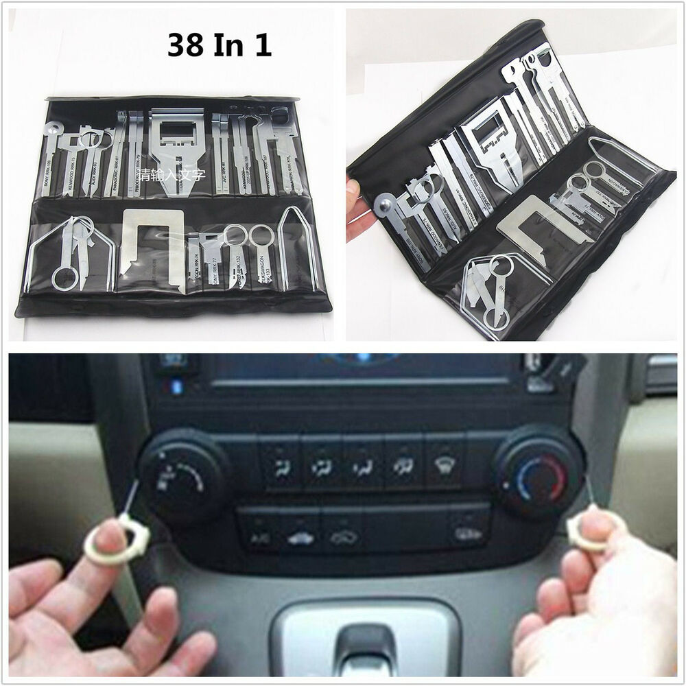 metal 38in1 car interior radio stereo player repair tool kits for chevrolet audi ebay. Black Bedroom Furniture Sets. Home Design Ideas