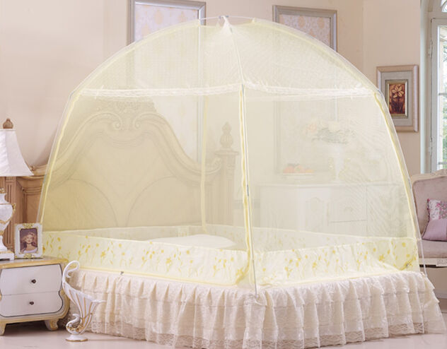 mosquito net bed summer canopy mongolian yurt canopy full queen size king size ebay. Black Bedroom Furniture Sets. Home Design Ideas