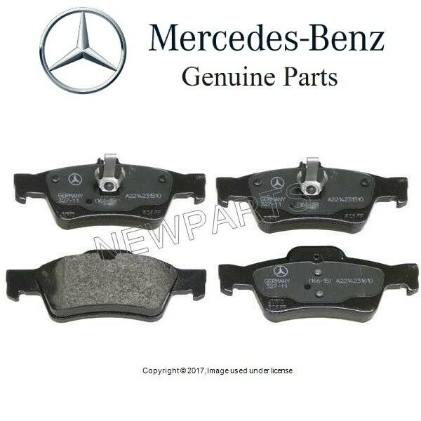 New mercedes e320 e350 e500 cls500 cls550 genuine rear for Mercedes benz e350 brake pads replacement