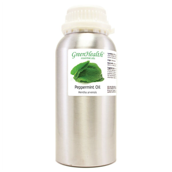 GreenHealth 100% Pure Essential Peppermint Oil 16 fl oz Free Expedited Shipping