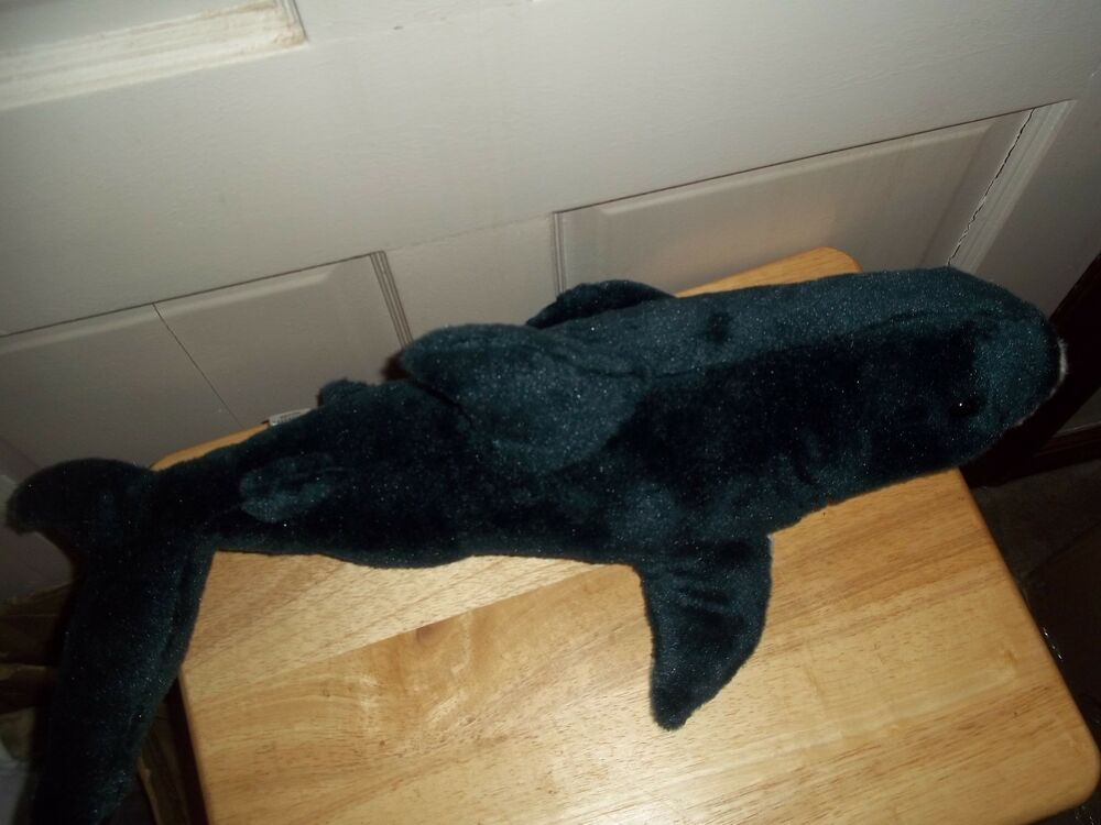 Mako Shark Toys : Rare realistic lifelike great white mako shark plush