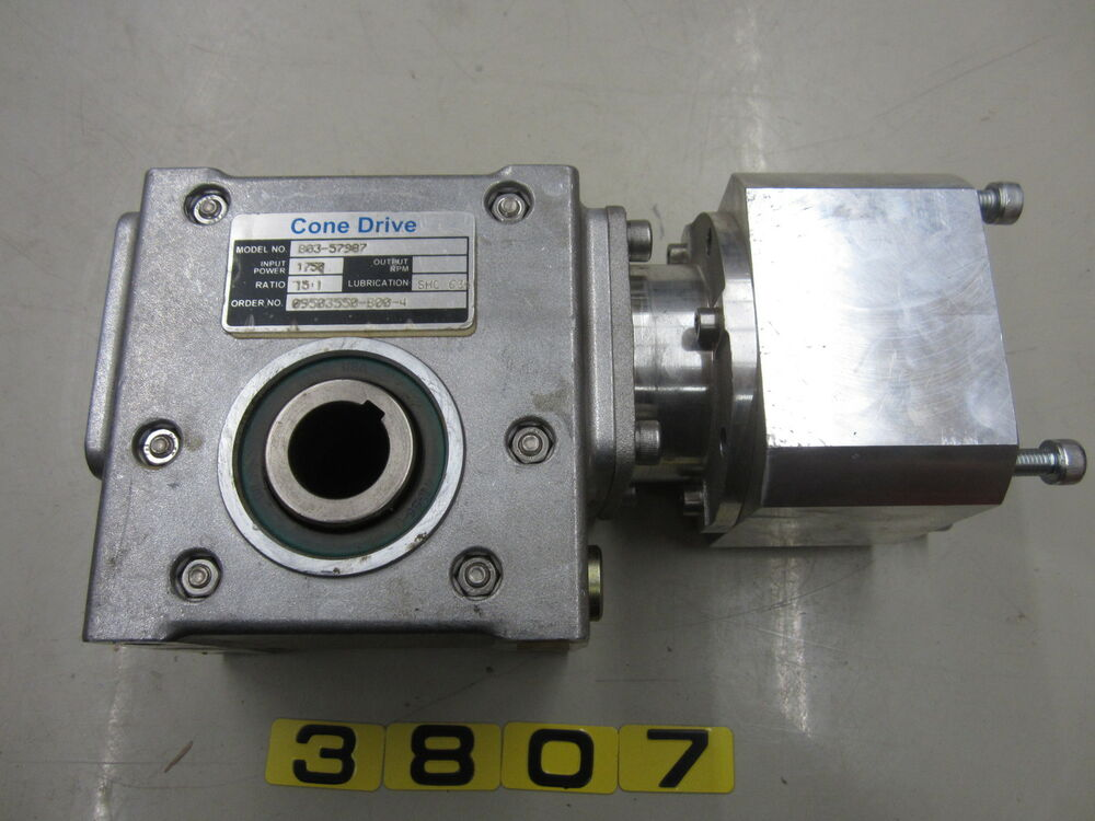 Textron Cone Drive B03 57987 Ratio 15 1 With Elau Sm 100