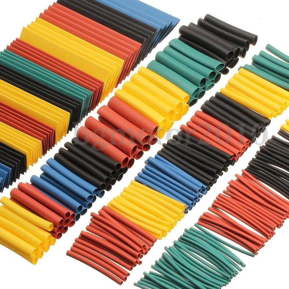 260pc Assortment Ratio 2 1 Heat Shrink Tubing Tube