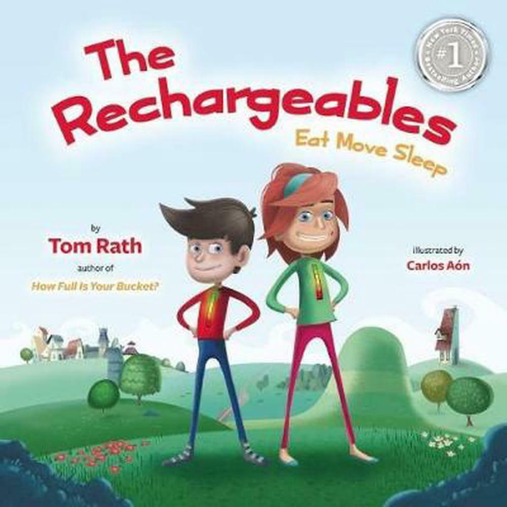 The Rechargeables By Tom Rath Hardcover Book (English