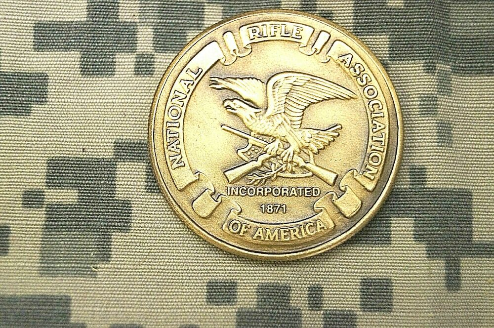 Challenge Coin National Rifle Association Of America
