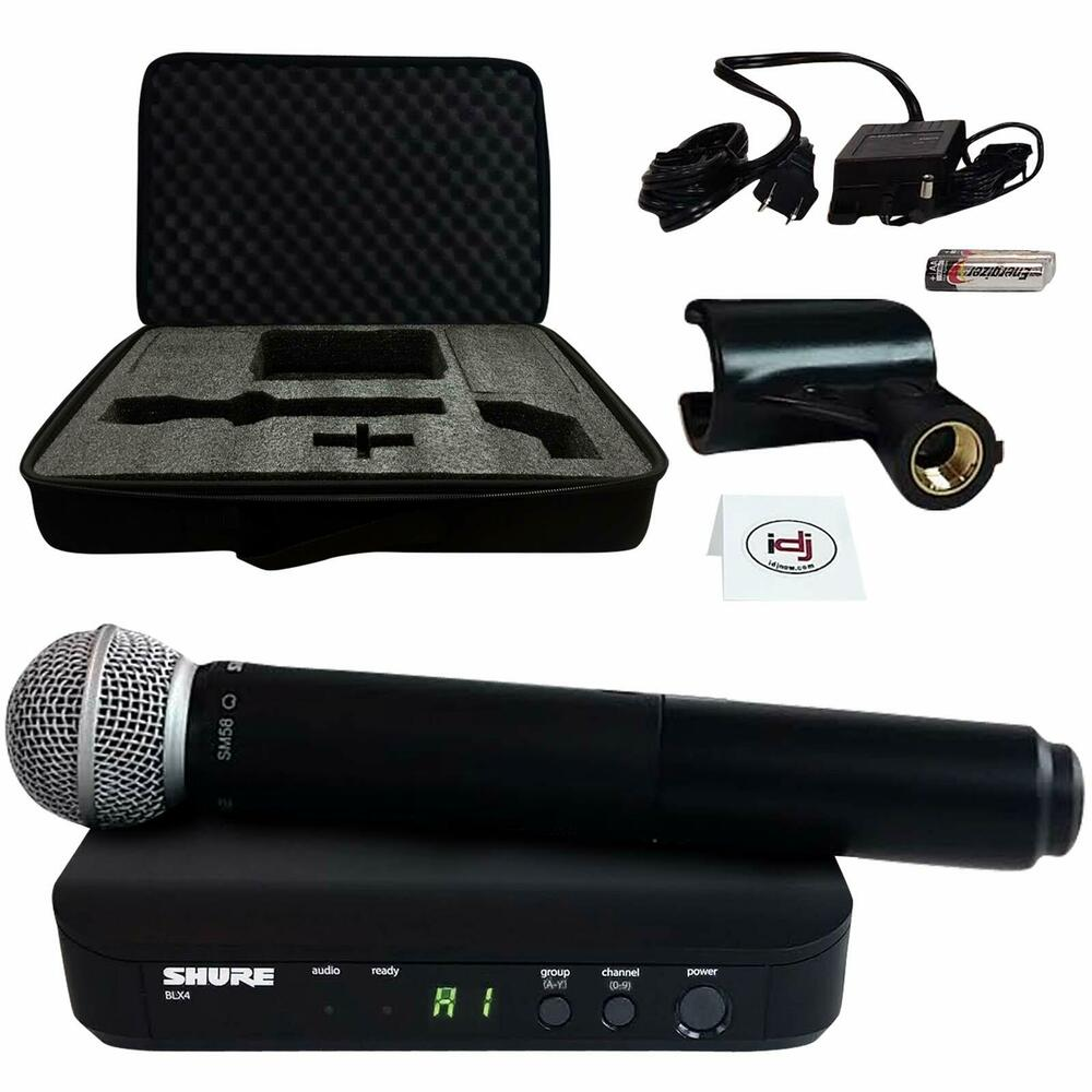 shure blx24 sm58 handheld multi channel wireless microphone system ebay. Black Bedroom Furniture Sets. Home Design Ideas